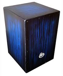LP Aspire Accents Cajon/ Blue Burst
