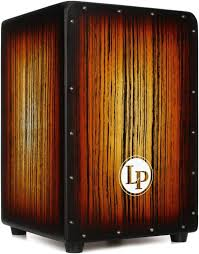 LP Aspire Accents Cajon/ Sunburst Streak