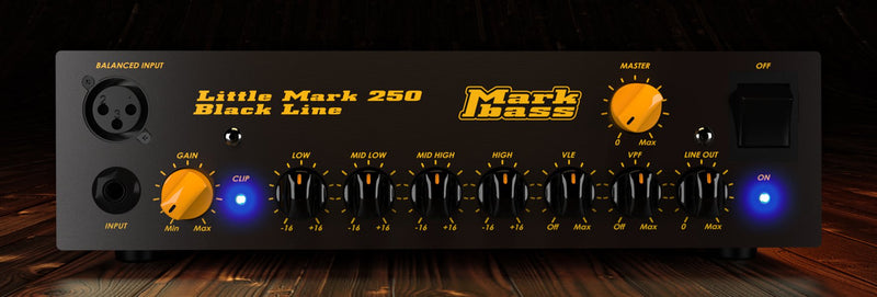 Mark Bass LM250 BL Head