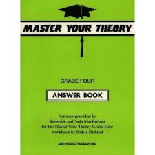 Master Your Theory Grade 4 Answer Book