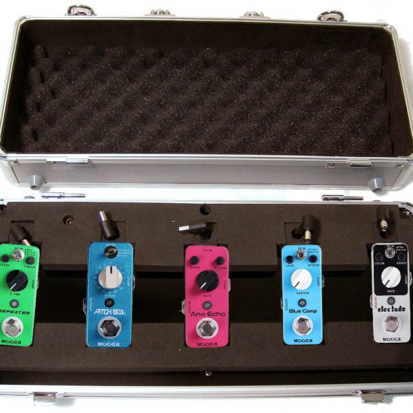 Mooer Case For 5 Pedals With Power