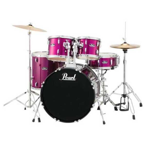 "Pearl RS-X 20"" 5pcs Fusion Pack Pink Met"