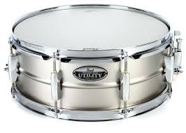 Pearl Modern Utility Steel Snare 14x5.5