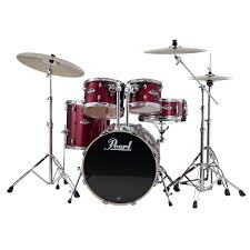 Pearl RS Fusion Plus 5pc Kt - Red Wine