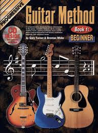 Progressive Guitar Method 1 Book CD/DVD