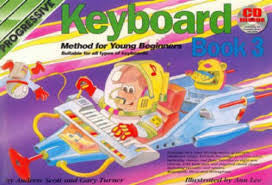 Progressive Keyboard Young Beg Book 3