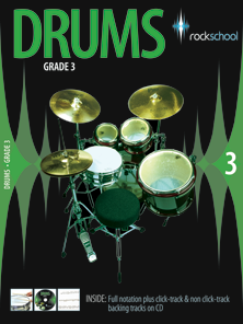 Rock School Drums - Grade 3