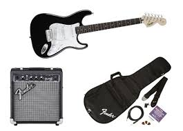 Squier Strat Pack 10G Black