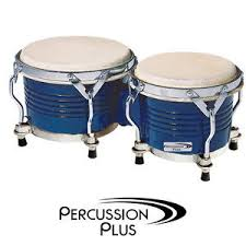 percussion Plus Tuneable Bongos Blue