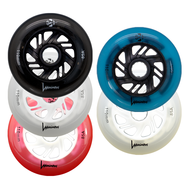 LUMINOUS - LED INLINE WHEELS - 110mm/85A x1