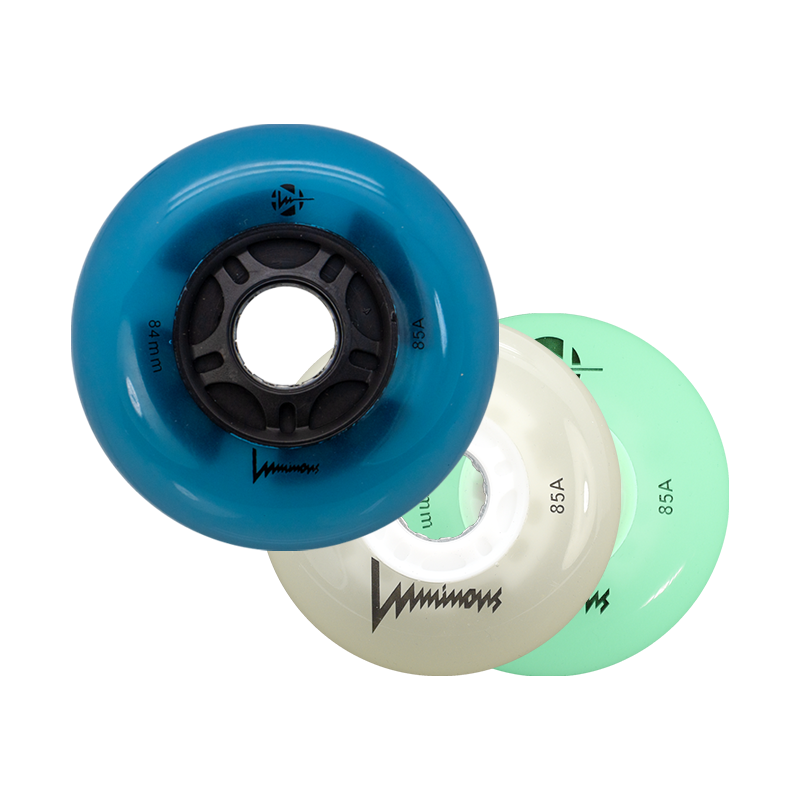 LUMINOUS - LED INLINE WHEELS - 84mm/85A x1