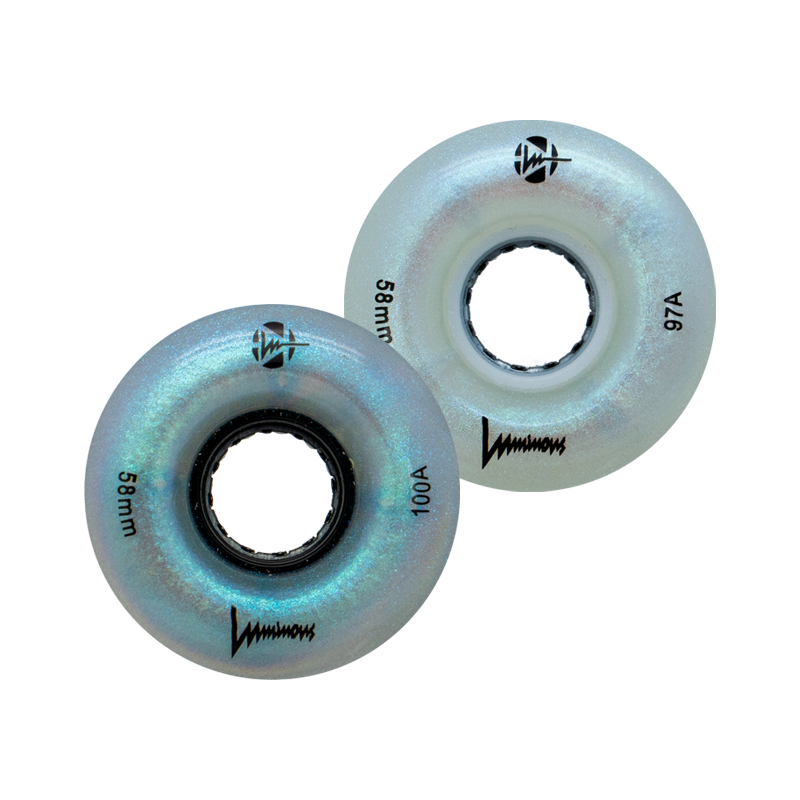 LUMINOUS - LED INLINE WHEELS - 72mm/85A x1