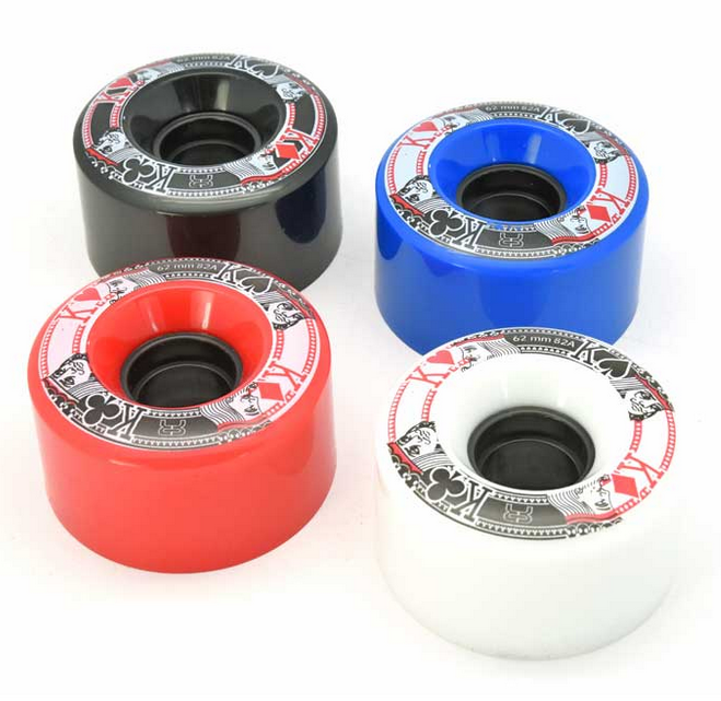 FR - QUAD STREET KINGS WHEELS - 62MM/82A x1
