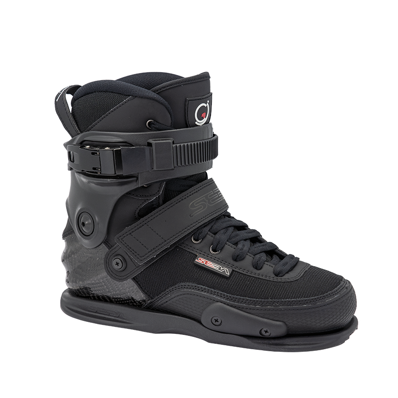 SEBA - CJ CARBON - BLACK - BOOT ONLY