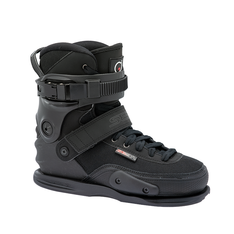 SEBA - CJ2 - BLACK - BOOT ONLY