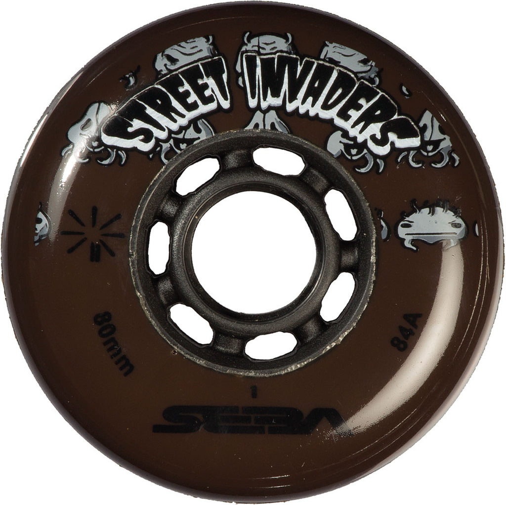 SEBA - STREET INVADER WHEELS 80mm /84A X1