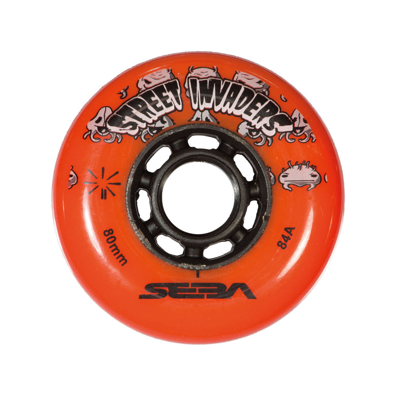 SEBA STREET INVADER WHEELS 84mm/84A X1