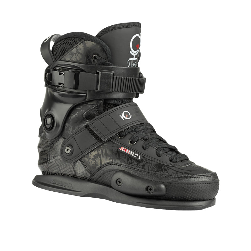 SEBA CJ WELLSMORE BLACK BOOT ONLY EU37