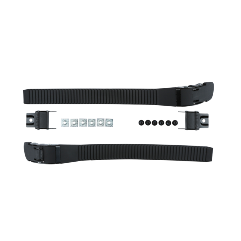 FR - SPIN BUCKLE SET - BLACK - PAIR