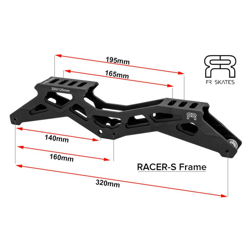 FR - RACER S 325 FRAMES - BLACK - 320mm