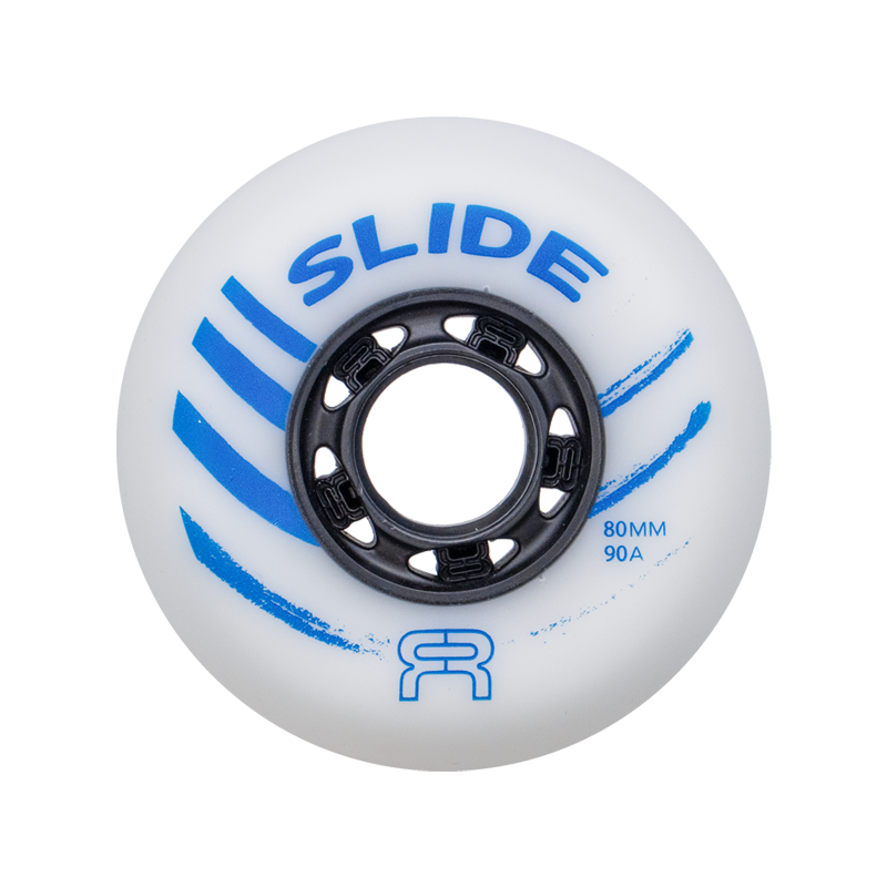 FR - SLIDE WHEELS - 90A - WHITE - x1