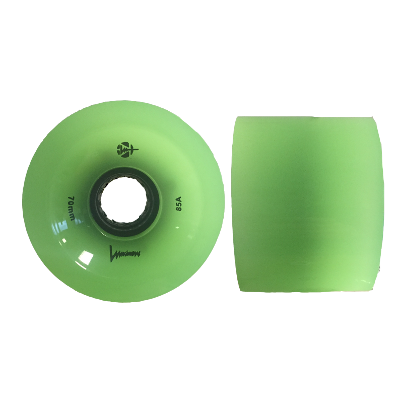 LUMINOUS - LONGBOARD LED WHEELS - 70x51mm/85A - x1