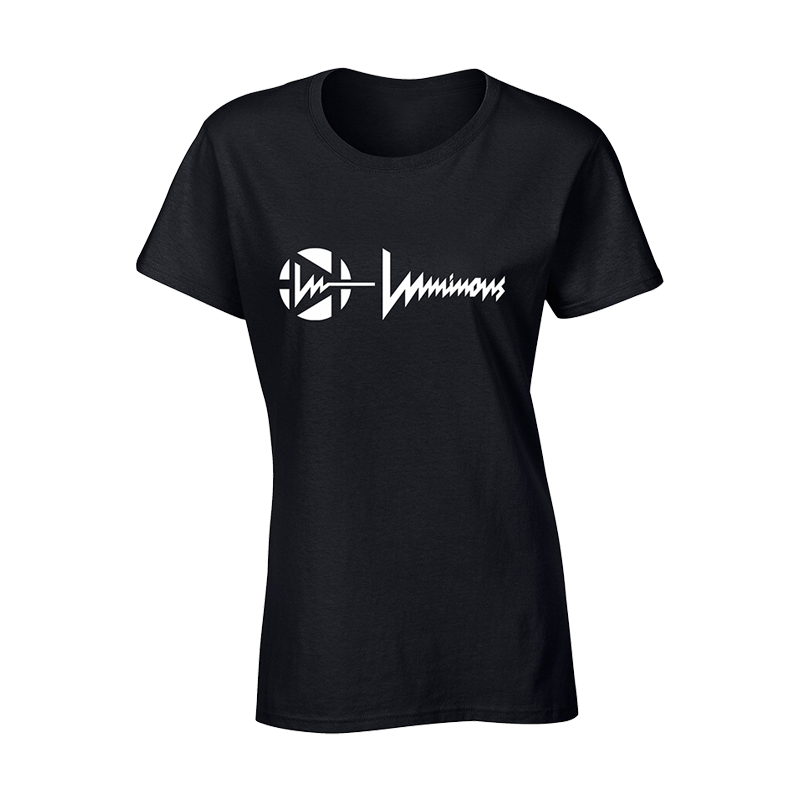 LUMINOUS - CLASSIC GLOW TSHIRT - WOMAN - BLACK