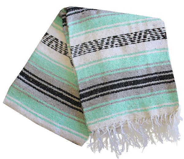 Baja Blanket: Sea Foam Dream - Del Mex - 1