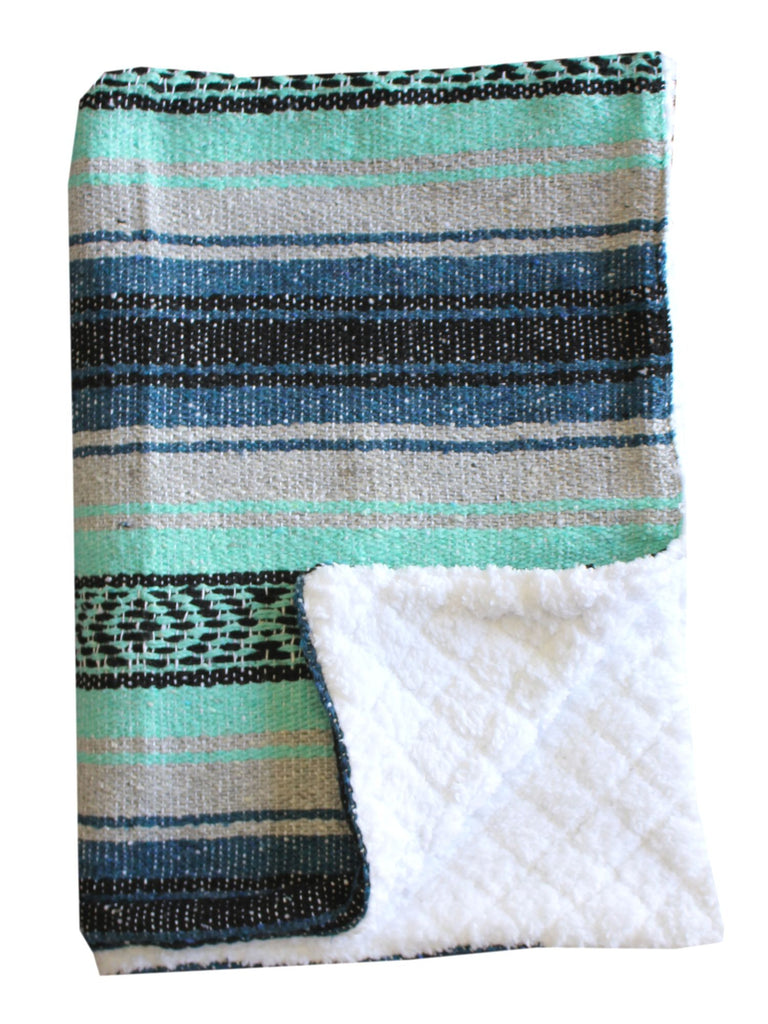 Baja Baby™ Mexican Baby Blanket -Pacifica