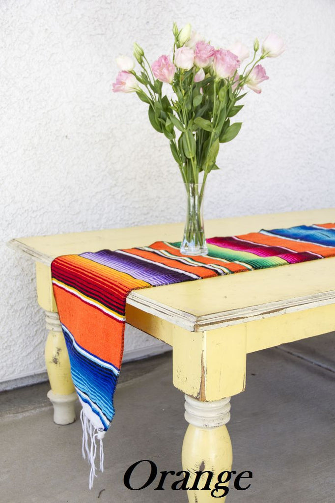 Serape Table Runner - Del Mex - 6