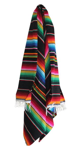 Black Serape Blanket