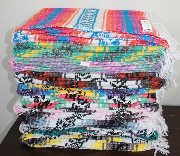 Baja Blanket: Assorted Colors - Del Mex - 1