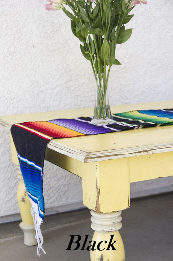 Serape Table Runner - Del Mex - 3