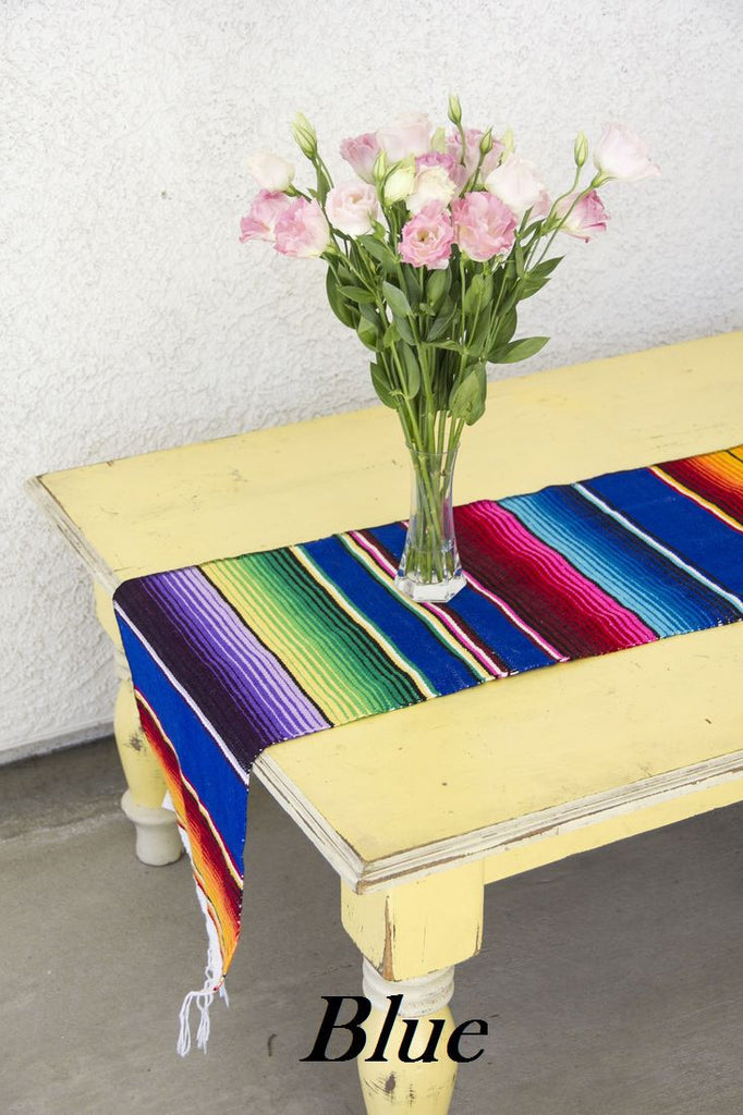 Serape Table Runner - Del Mex - 4
