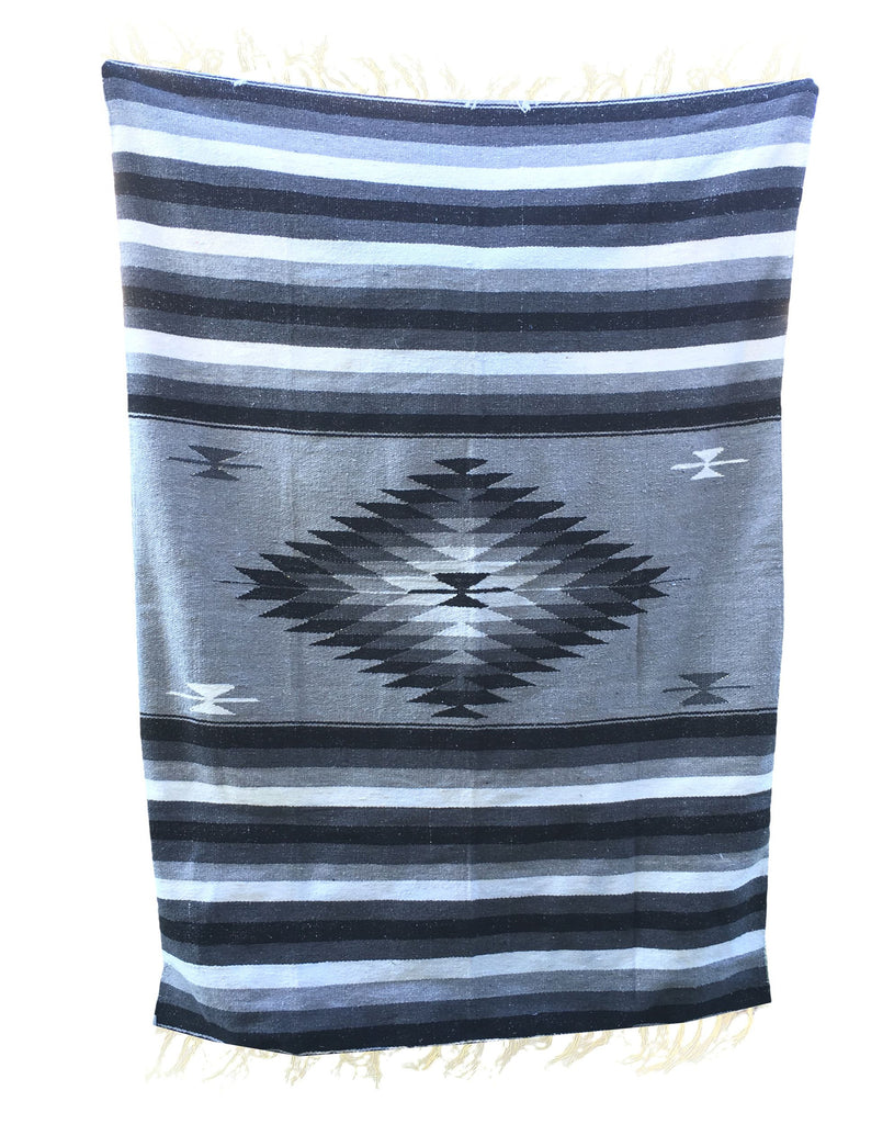 Diamond Blanket- Ebony and Ivory - Del Mex - 1
