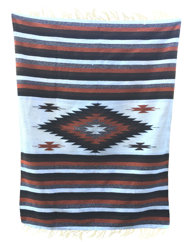 Diamond Blanket- Earth Tone - Del Mex - 1