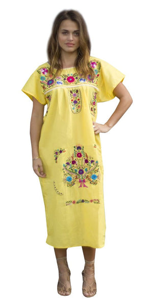 Dress- Yellow - Del Mex - 1