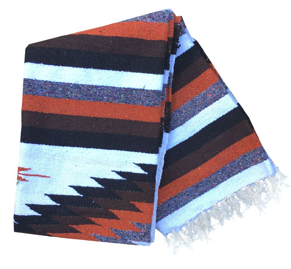 Diamond Blanket- Earth Tone - Del Mex - 2