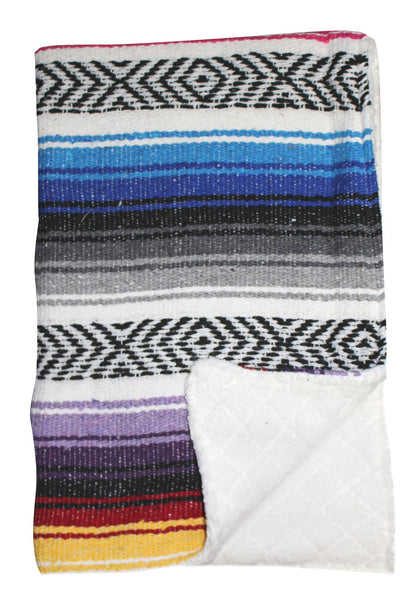 Baja Baby™ Mexican Baby Blanket -Multi-Colored