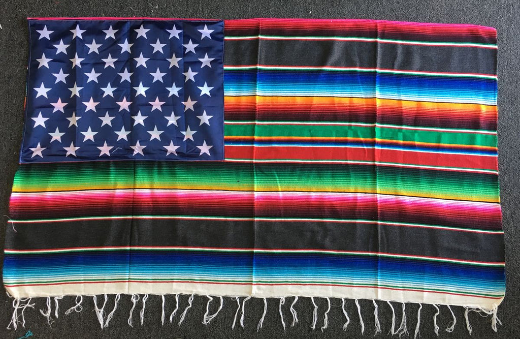 Serape Blanket Flag