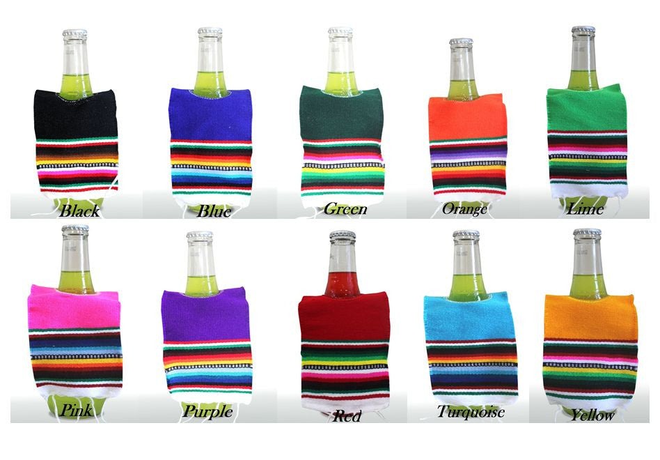 Mini Bottle Ponchos - Del Mex - 2