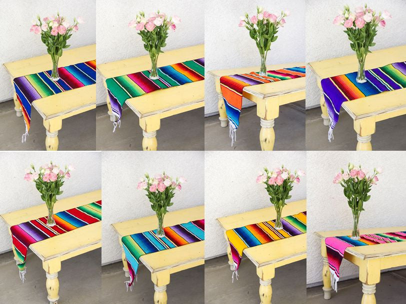 Serape Table Runner - Del Mex - 2