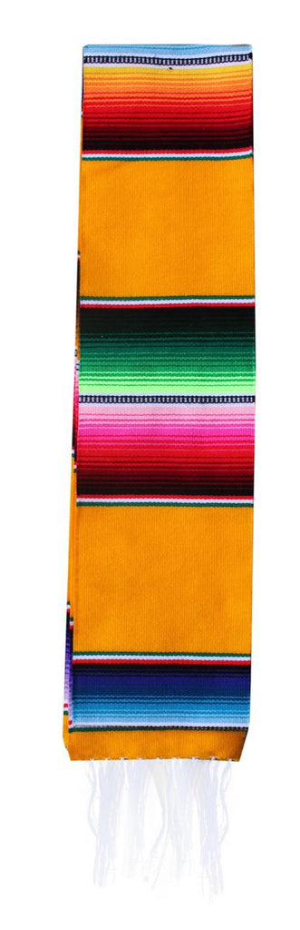 Serape Graduation Sash Stole- YELLOW
