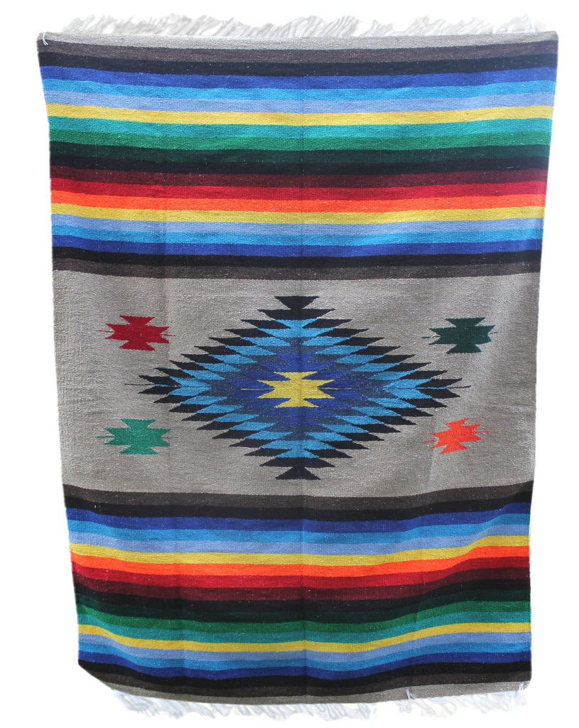 Diamond Blanket- Multi-Tan - Del Mex - 1