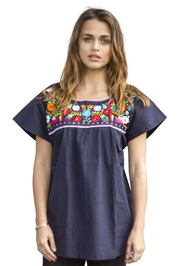Blouse- Navy Blue