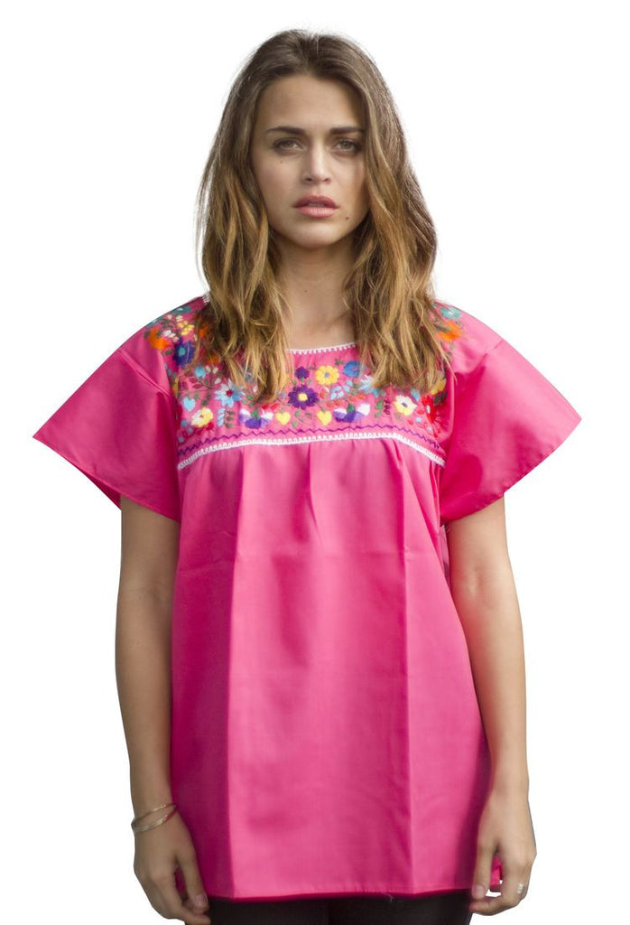 Blouse- Pink - Del Mex - 1
