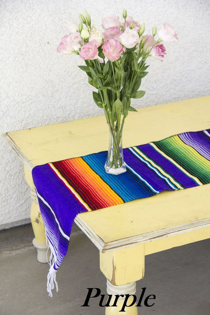 Serape Table Runner - Del Mex - 8
