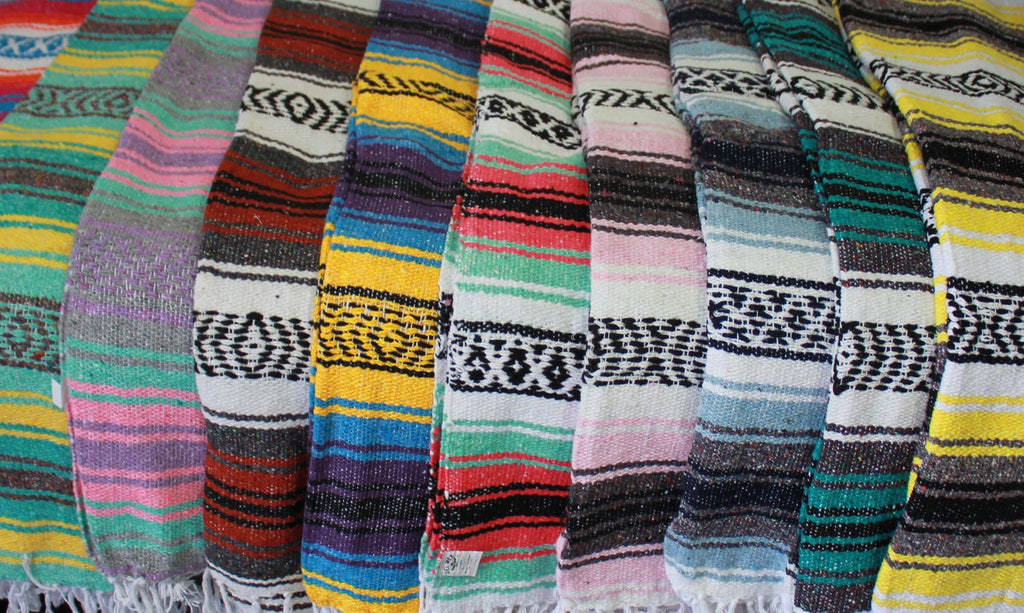 Baja Blanket: Assorted Colors - Del Mex - 2