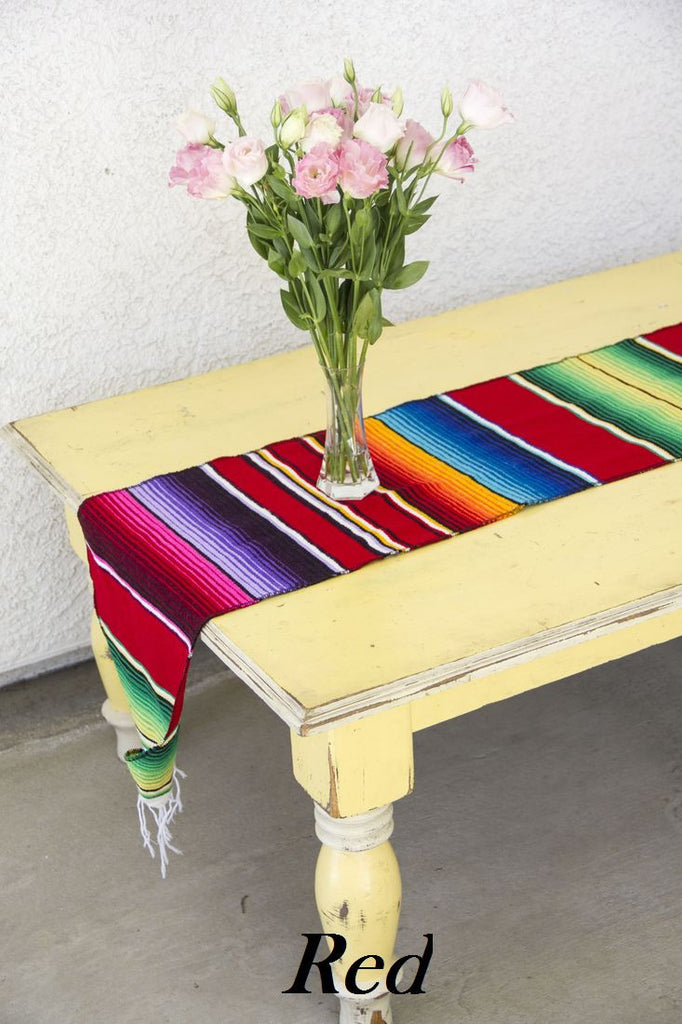 Serape Table Runner - Del Mex - 9