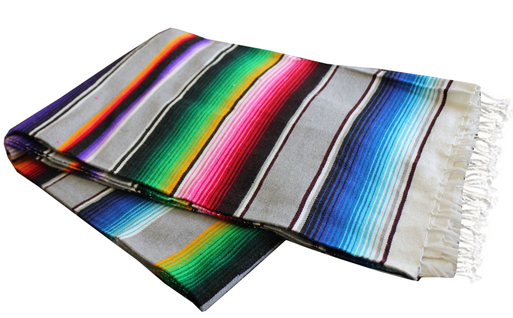 Light Grey Serape - Del Mex - 2